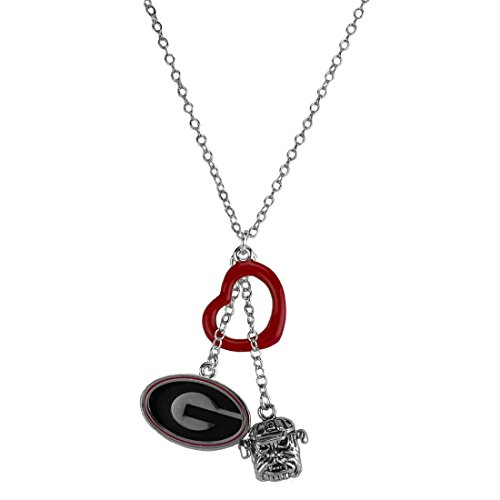 Georgia Bulldogs Pride Heart (Georgia Bulldogs Mascot Costume)