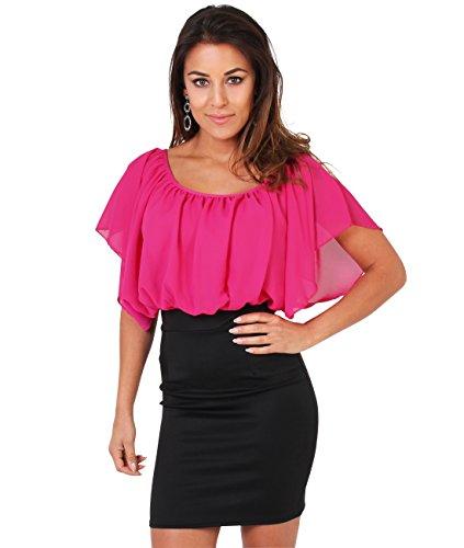 Skirt Blouse (KRISP Bodycon Dress Pencil Skirt Loose Blouse Shirt)