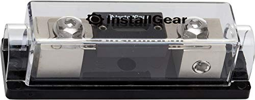 - InstallGear 0/2/4 Gauge AWG In-Line ANL Fuse Holder with 250 Amp Fuse