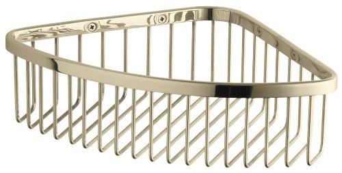 KOHLER K-1897-AF Large Shower Basket, Vibrant French Gold