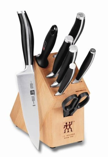 Zwilling J.A. Henckels Twin Cuisine 9-Piece Knife Set with Block - Ja Henckels Twin Cuisine