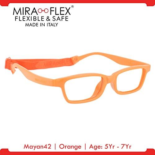 51ba9adaeff Galleon - Miraflex  Mayan42 Unbreakable Kids Eyeglass Frames