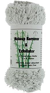 Desmaquillante y Exfoliador - Toalla de Microfibra con Carbon de Bambu - (3) para