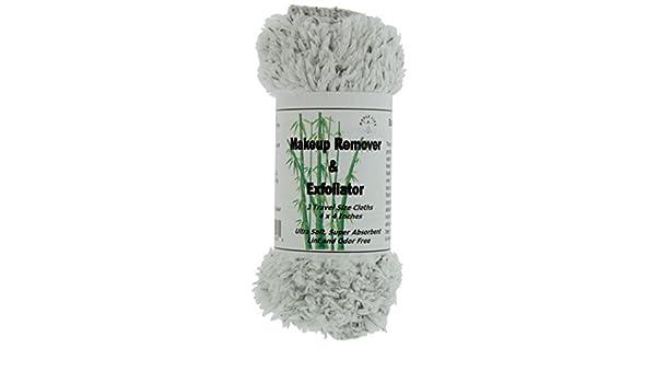 Amazon.com: Desmaquillante y Exfoliador - Toalla de Microfibra con Carbon de Bambu - (3) para viaje - 1 Paquete: Beauty