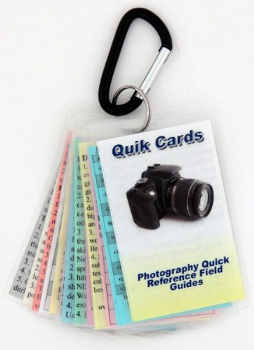 DSLR & SLR Cheatsheets. Pocket sized quick reference cards. Learn to take breath taking photos every time you use your camera. Digital Camera Guide, Photography Manual, Tips for Digital or Film SLR cameras. For use with Canon, Nikon, Olympus, Sony, Fuji, Pentax, Contax, Leica, Mamiya, Hasselblad, Bronica and more from The Photo Buddy