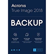 Acronis True Image 2018-5 Computer Backup Software