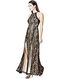 Guess abstract print maxi dress