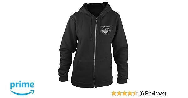 ef189544279 Amazon.com: Harley-Davidson Military - Women's Zip Hoodie - Overseas Tour    American Angel 2X-Large: Clothing