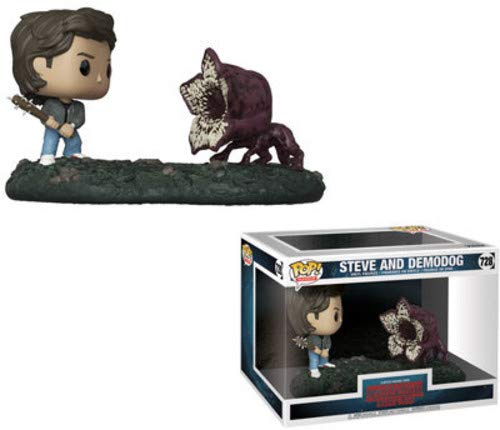 Pop! Stranger Things - Figura de Vinilo Movie Moment Steve & Demodog