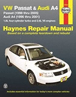Haynes Volkswagen Passat and Audi A4 (96 - 01) Manual