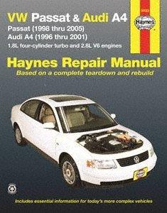 (Haynes Volkswagen Passat and Audi A4 (96 - 01) Manual)
