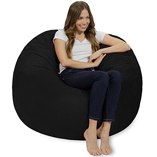 410sld%2BPWBL - Chill-Sack-Bean-Bag-Chair-Giant-4-Memory-Foam-Furniture-Bean-Bag-Big-Sofa-with-Soft-Micro-Fiber-Cover