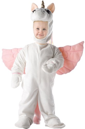Underwraps Costumes Baby's Unicorn, White/Pink, Small