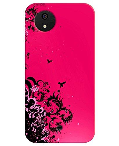 hot sale online 97278 066fe FurnishFantasy Plastic Back Cover for Micromax Canvas A1 AQ4502/AQ4501  (Multicolour)