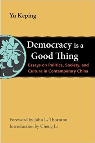 democracy is a good thing essays on politics society and  democracy is a good thing essays on politics society and culture in contemporary the thornton center chinese thinkers series yu keping