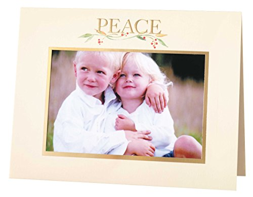 Peace Photo Christmas Card Set of 18 (Christmas Cards Photo)