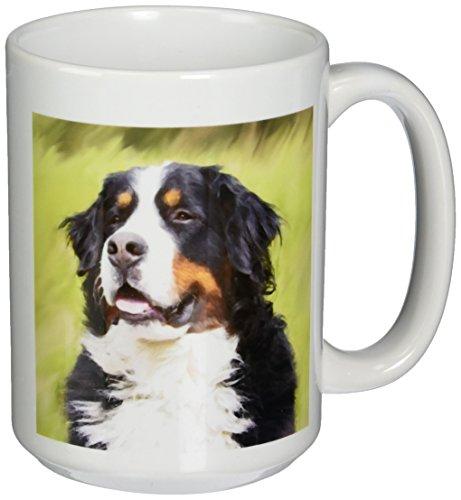 3dRose Bernese Mountain Dog 15 Ounce