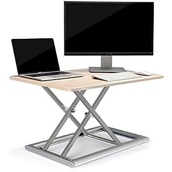 Amazon Com Upergo Standing Desk Converter Height