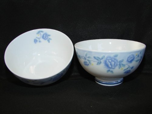 4 of Porcelain Rice Bowls by Feng Shui Import