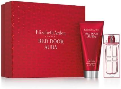 ELIZABETH ARDEN RED DOOR AURA Eau De Toilette 100 ML + B/L 100 ML + MINI SET REGALO: Amazon.es: Belleza