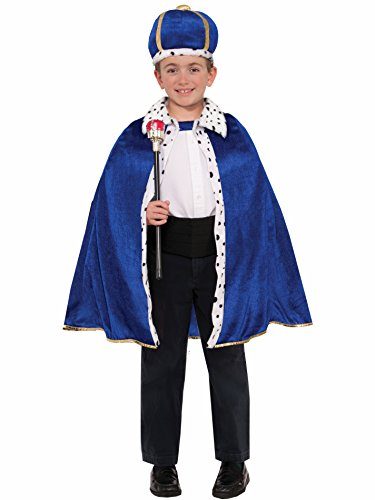 Forum Novelties 78063 King Robe and Crown Set, Standard, Blue]()