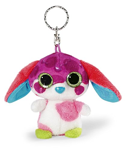 NICI 38782 9 cm Nicidoos Sirup Dog Bluffy Crazy Key Chain by