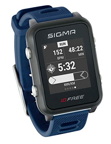 iD.FREE GPS multisporthorloge voor outdoor en navigatie, smart notifications, geocaching, hartslagmeting op de pols…