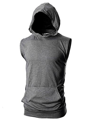 Sleeveless Sweatshirts - 7