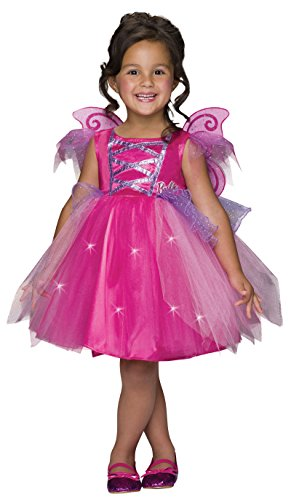 Barbie Costume For Kids (Barbie Light-Up Fairy Dress Costume, Child's Small)