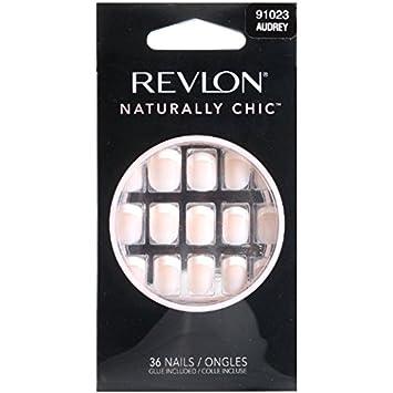Amazon.com : Revlon Naturally Chic Nails, Audrey 36 count : False ...