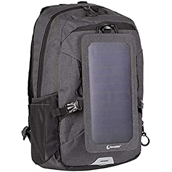 d76fa176614a Amazon.com: HANERGY Professional Hiking Camping Solar Backpack with ...