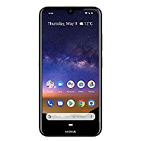 Nokia 2.2 Fully Unlocked Smartphone with 5.71″ HD+ Screen, 13 MP Camera and Android 10 Ready, Black (AT&T/T-Mobile/Cricket/Tracfone/Simple Mobile)