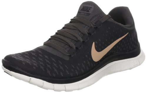 info for 85bfb 02c5d Nike Damen Laufschuh Free 3.0 V4 511495-062 schwarz Gr. 36,5 (6)  Amazon.de Schuhe  Handtaschen