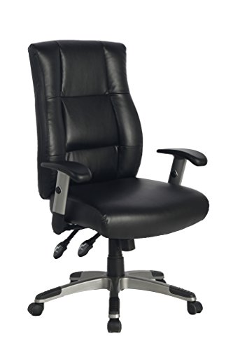 Ergonomic High Back Bonded Leather Executive Office Chair With Soft Spring Pack