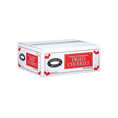 Traverse Bay Dried Cherries - 4 lb. box by MegaDeal (Traverse Bay Dried Cherries 4 Lb Box)