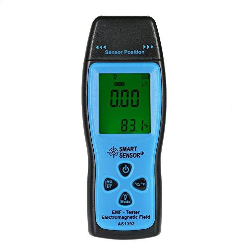 KKmoon EMF Meter Handheld Mini Digital LCD EMF Tester Electromagnetic Field Radiation Detector Meter...