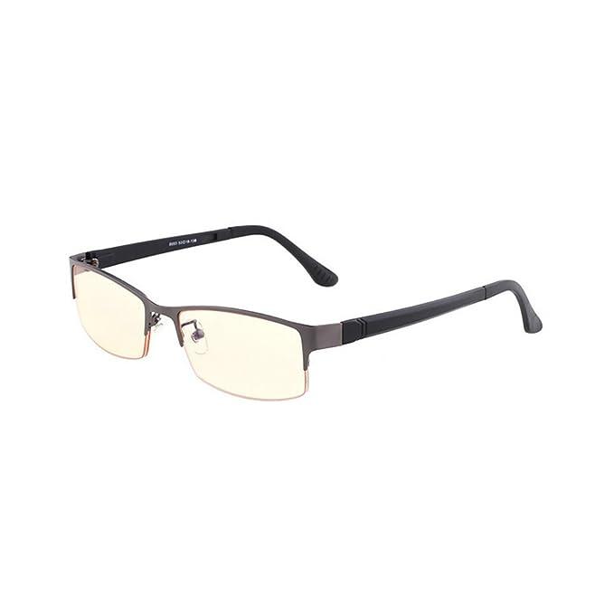 40a57b2c15 MINCL Blue Light Blocking Computer Goggles Glasses Mens Business Anti UV  Computer Gaming Glasses Frame