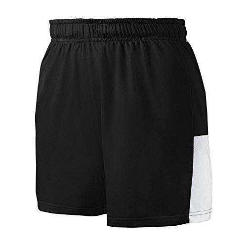 Mizuno 350590.9000.06.L Women's Comp Training Short L Black-White ()