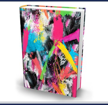 The Original Book Sox - Jumbo Paint Strokes The Turtle Company Inc. JP253