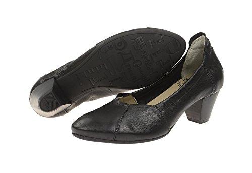 Think! 6-86955-00 - Zapatos de vestir de Piel para mujer Negro - negro