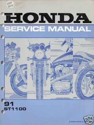 1991 HONDA MOTORCYCLE ST 1100 SERVICE MANUAL (Custom Wiring Motorcycle)