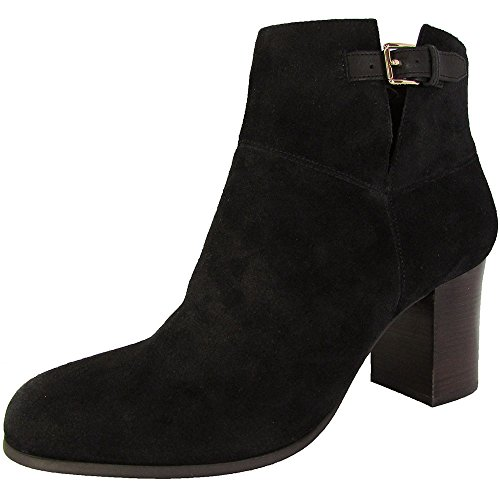 Cole Haan Womens Kelda Bootie II Ankle Boot Shoes, Black Suede, US 11 (Cole Haan Short Boots For Women)