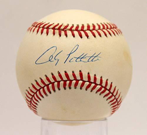ANDY PETTITTE YANKEES SIGNED AUTOGRAPHED OAL BASEBALL BALL PSA/DNA #AE93610 (Ball Oal Baseball)