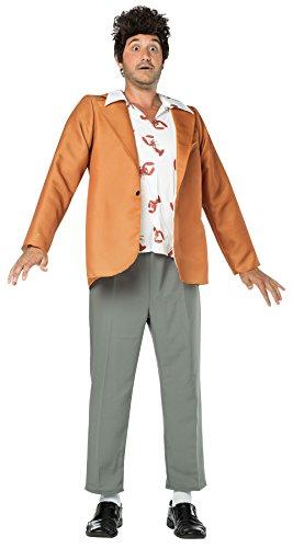 Rasta Imposta Men's Seinfeld Kramer Outfit Kit Funny Theme Fancy Dress Halloween Costume, OS