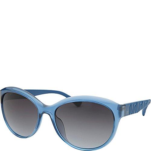 135 SMOKE CK3170S 243 Klein F 54 acetato Oversize 17 Calvin mujer Platinum BLUE SHADED qOzEx0