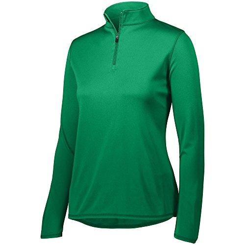 Augusta Sportswear Women's Attain 1/4 Zip Pullover XS Kelly