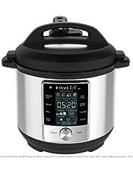 Instant Pot Max 9-in-1 Electric Pressure Cooker, Slow Cooker, Rice Cooker, Steamer, Saute, Yogurt Maker, Sous Vide, Canning, and Warmer, 6 Quart, Unlimited Smart Programs