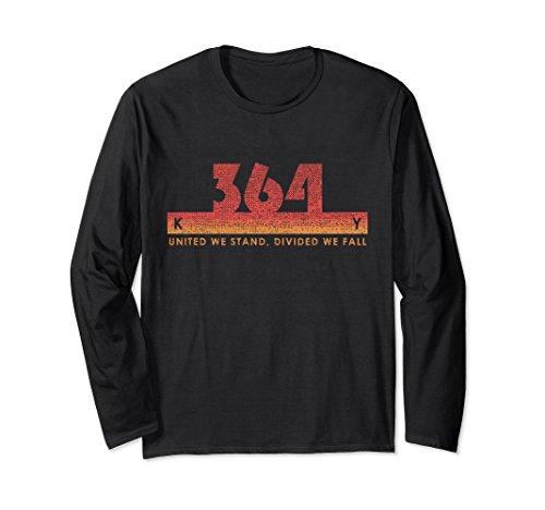 Unisex Kentucky Area Code 364 Shirt Vintage Retro State Motto Gift Large Black - Kentucky State Motto