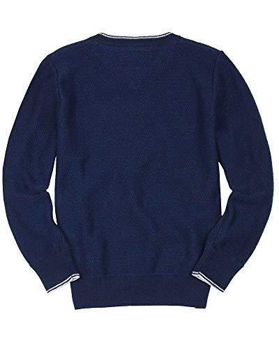 BOSS Boys Basic V-Neck Pullover, Sizes 6-16 - 10 by BOSS (Image #1)