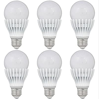 Feit LED 6-pack 10 Watt Dimmable High Quality Vivid OMNI Smart Star Energy Saving A19 Light Bulbs Soft White (60-watt Replacement) 92+ Coloring Rendering Index